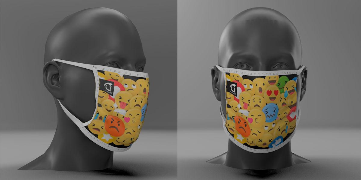 Sono disponibili le mascherine personalizzabili per la tua squadra